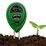 Yunhigh 3 IN 1 Garden Soil Tester Moisture Meter Multipurpose PH Acidity Tester Temperature Sensor