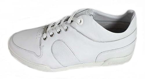 BIKKEMBERGS - Zapatillas para hombre, color blanco, talla 40
