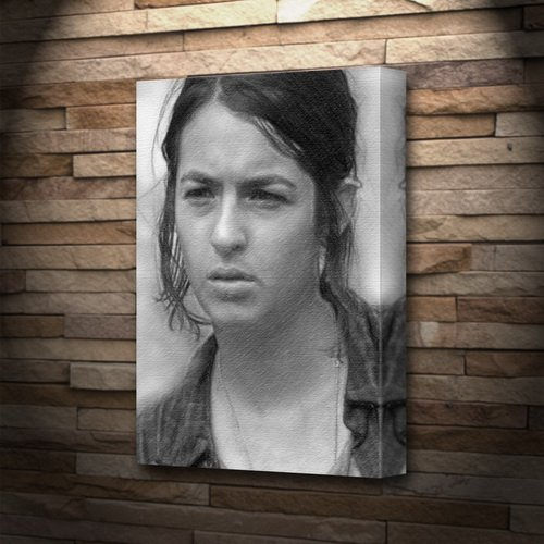 - Seasons Alanna Masterson - Canvas Print (A5 - Signed by The Artist) #js002