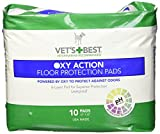 Cheap Vet's Best 10 Count Oxy Action Floor Protection Dog Pads