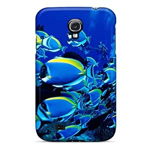 lintao diy Case Cover Blue Sea/ Fashionable Case For Galaxy S4