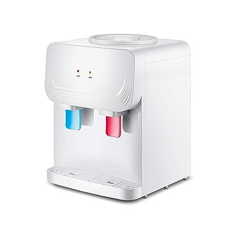 L&XY Escritorio Casero Mini Frío Caliente Y Dispensador del Agua Caliente Que Empuja El Interruptor Conveniente