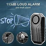 Wsdcam 113dB Wireless Anti-Theft Vibration