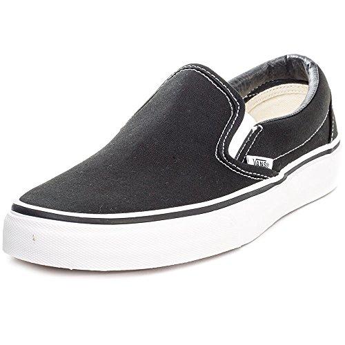 Vans Unisex Slip-On True Weiß VN000EYEW00 Skate Schuhe Schwarz