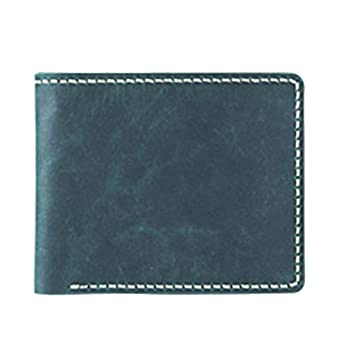 Prettyia Diy Leather 6 Pockets Wallet Kit Purse Bifold Kit Make Your Own Leather Wallet Dark Green