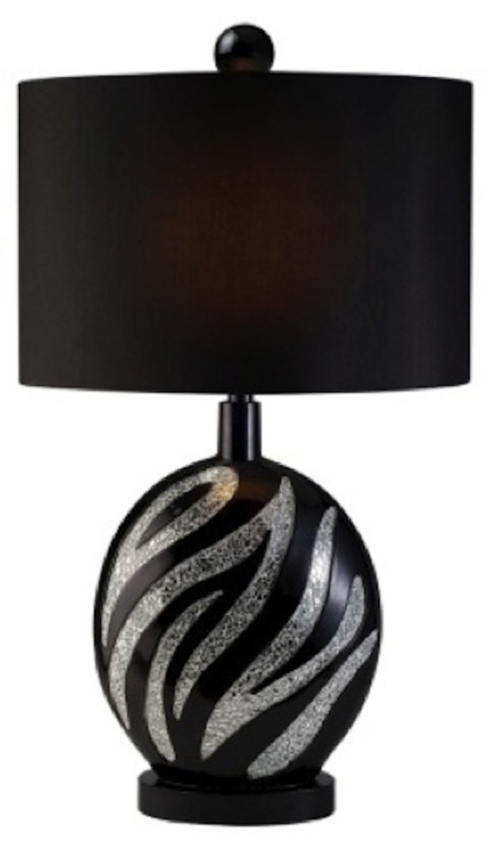 Ore International K-4243T Zebra Table Lamp, 31-Inch