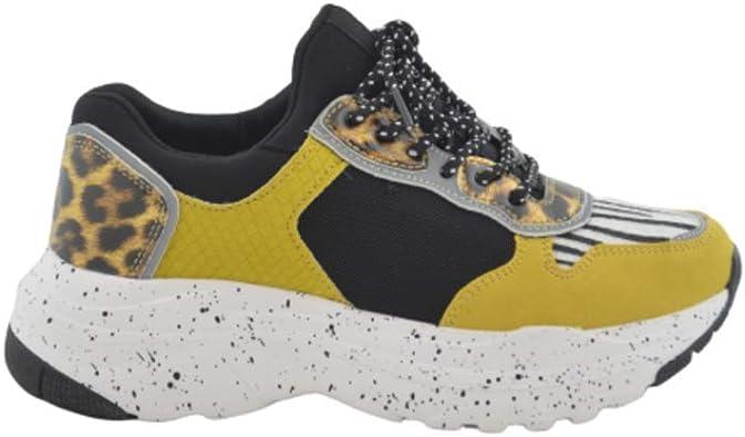 Zapatilla Deportiva Ugly Sneakers Amarilla: Amazon.es: Zapatos y ...