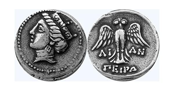 Amazon Greek Mythology Tyche Coin Goddess Of Fortune Luck