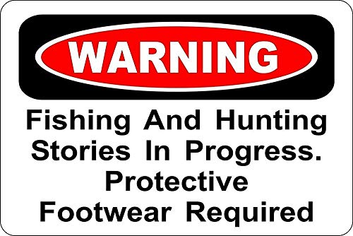 釣りと狩猟 金属板ブリキ看板注意サイン情報サイン金属安全サイン警告サイン表示パネル