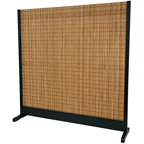 Oriental Furniture 6 1/4 ft. Tall Take Room Divider - Black