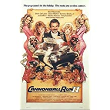 CANNONBALL RUN II (1984) Original Authentic Movie Poster - 27x41 One Sheet - Single-Sided - FOLDED - Burt Reynolds - Dom DeLuise - Dean Martin - Sammy Davis Jr
