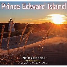 "Prince Edward Island 2018 12x11.5"" Monthly Wall Calendar [Calendar] [Jul 01, 2017]"
