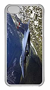 iPhone 5C Case, Personalized Custom War Airplane 62 for iPhone 5C PC Clear Case