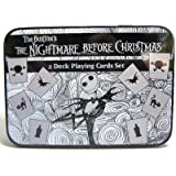 The Nightmare Before Christmas 2 Deck Playing Cards Set