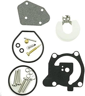 Amazon com: Carburetor repair kit for Yamaha 2 stroke 40hp 66T-W0093