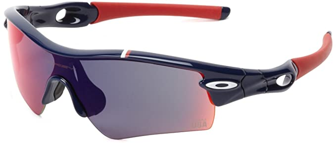 ef6969fc40 Image Unavailable. Image not available for. Colour  Oakley Mens Team USA  Radar Path 24-302 Men s Sunglasses