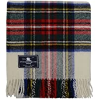 Dress Stewart Tartan Premium Wool Travel Rug