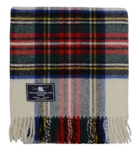 Tweedmill Textiles Dress Stewart Tartan Premium Wool Travel - Stewart Tartan Dress