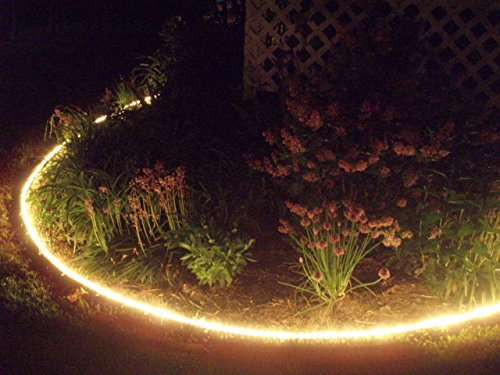 30ft solar rope lights waterproof outdoor rope lights warm white 100led 30ft solar rope lights waterproof outdoor rope lights warm white portable led string light with light aloadofball Choice Image