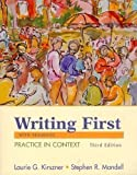 CP Writing First with Readings 3e in Black and White, Kirsner, 0312460570