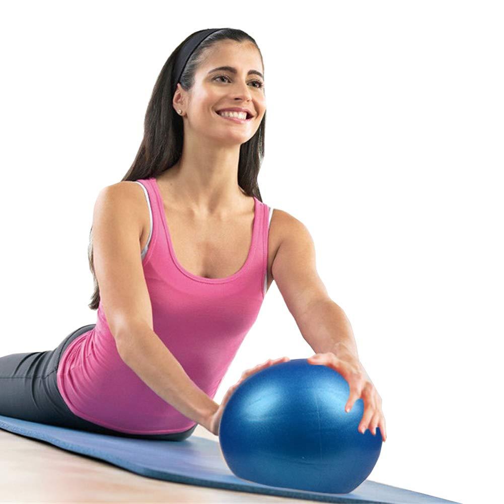 Vim Tree001 Mini Exercise Ball, Small Gym Ball for Yoga, Pilates, Barre,Stretching Stretching B&P 2pcs BSJ0020-004-2