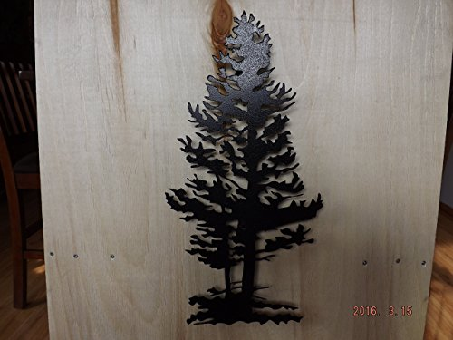 Metal Wall Art, 3D Pine Tree by Fillmore Creations