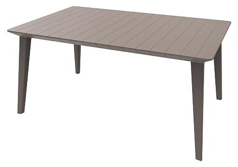 Gartentisch ausziehbar rattan  Amazon.de: Allibert Garten-Esstischgruppe, Lima 160, 157 x 94 x 74 ...
