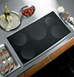 "GE PHP960SMSS Profile 36"" Stainless Steel Electric Induction Cooktop"
