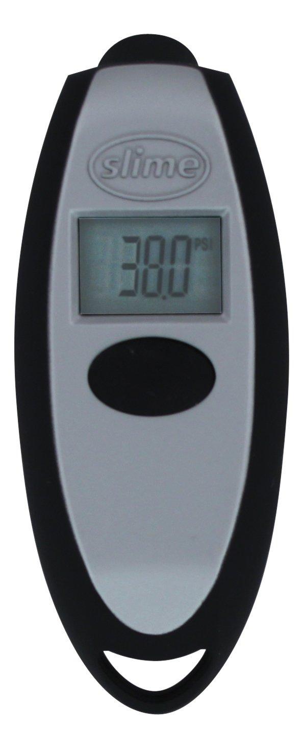 Slime 20112 Keychain Digital Tire Gauge, 5-150 PSI Rain-X