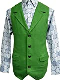 Joker Green Wool Vest Costume Halloween Tdk