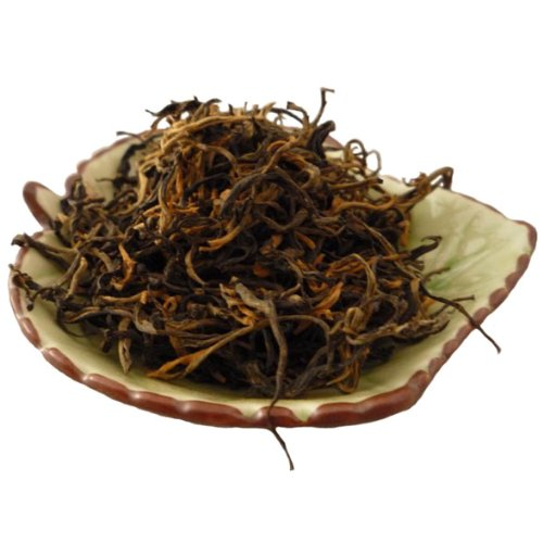 Yunnan Large Leaves Dian Hong Black Tea One Bud One Leaf 250g by Yunnan Black Tea Dianhong One Bud One Leaf
