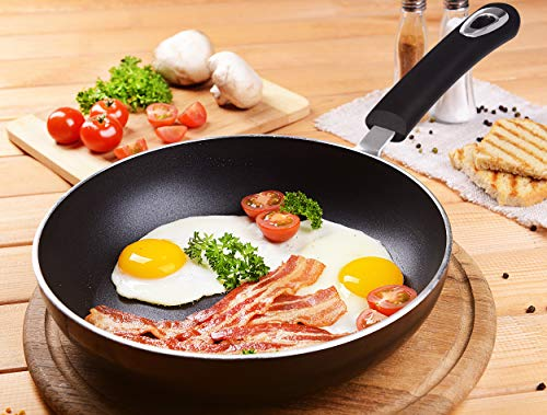Utopia Kitchen 11 Inch Nonstick Frying Pan - Induction Bottom - Aluminum Alloy and Scratch Resistant Body - Riveted Handle - Dishwasher Friendly