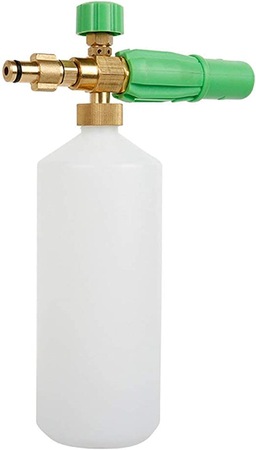 EdBerk74 Botella de Espuma Ajustable Espuma de Nieve Lanza ...