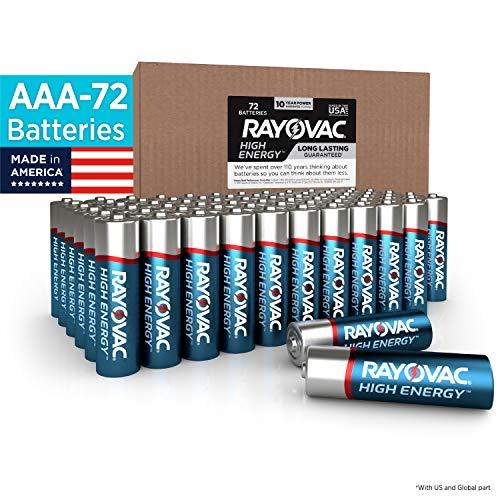 Rayovac AAA Batteries, Alkaline Triple A Batteries (72 Battery Count)