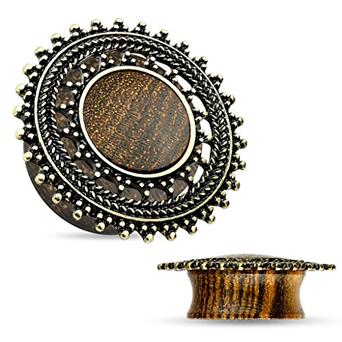 Natural Saddle Tribal Round Shield product image