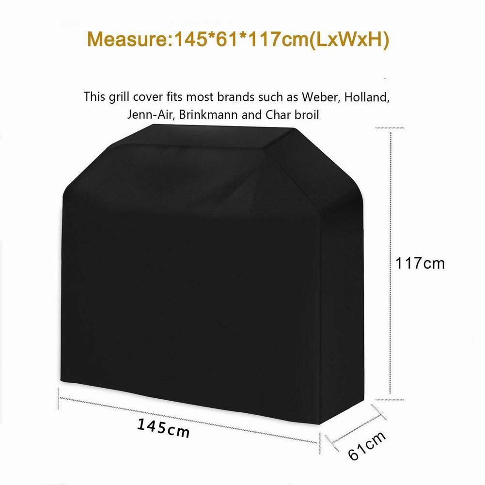 SELUXU BARBACOA grill cubierta con impermeable poli/éster resistente al polvo de Oxford horno funda de protecci/ón funda protector