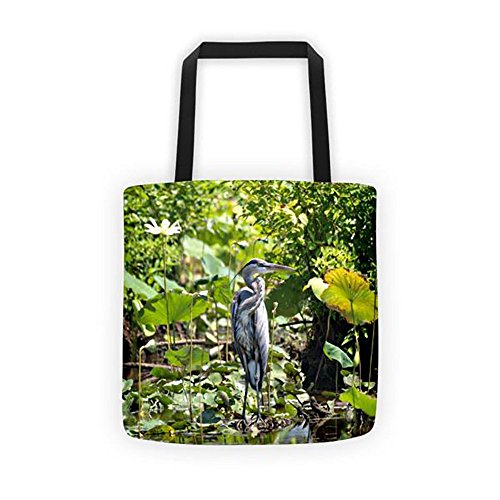 Blue Heron Bags - Blue Heron Tote Bag Carrying Case Purse Lake Bird Lover Big Bird Water Integrative Therapeutics Art Decor Art Series Lawn Wall Ornament Series Book Drone Seed Feeder Strap Case Lap Tops Diapers Bab