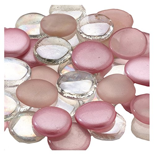 (Lillian Rose Guest Book Alternative Pink Mixed Signing Stones)