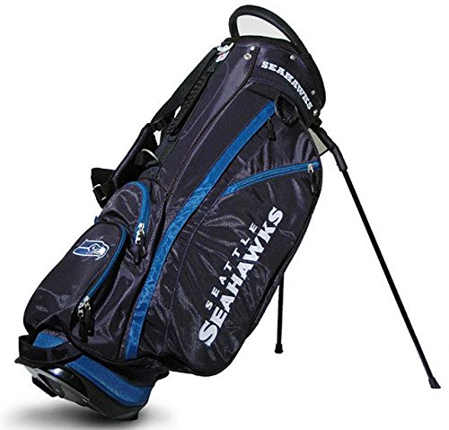 Seattle Seahawks NFL Stand Bag - 14 way Fairway by Team Golf (Image #1)
