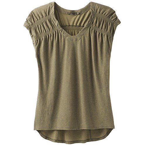 (prAna Constellation Tee, Forest Green, Small)