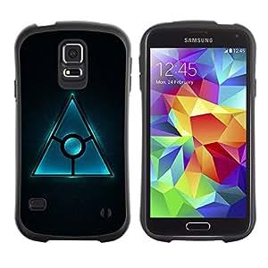 Suave TPU GEL Carcasa Funda Silicona Blando Estuche Caso de protección (para) Samsung Galaxy S5 / CECELL Phone case / / Triangle Design /
