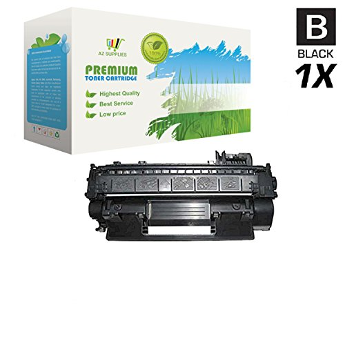 AZ Supplies © Compatible Repalacement HP 05A, 505A, CE505A Toner Cartridge for use in HP Color LaserJet P2030, P2035, P2035N, P2050, P2055D, P2055DN, P2055X Series Printers- Black: 2,300 Pages Yield. ()