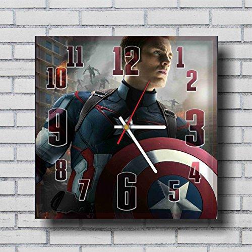 Captain America Handmade Wall Clock