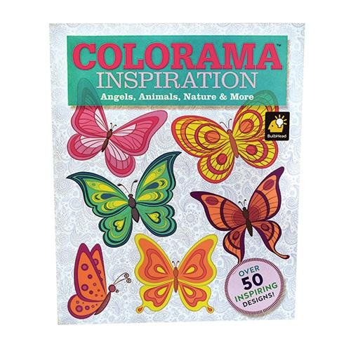Colorama Decoration and Inspiration Angels, Animals, Nature & More Coloring Book ()