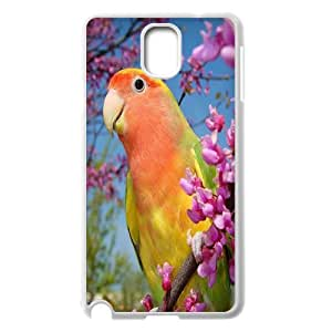 Funny Parrot,Cute Bird Protective Case 116 For Samsung Galaxy NOTE3 Case Cover At ERZHOU Tech Store