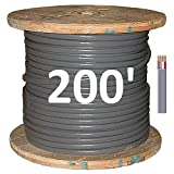 6/3 UF (Underground Feeder - Direct Earth Burial) Cable