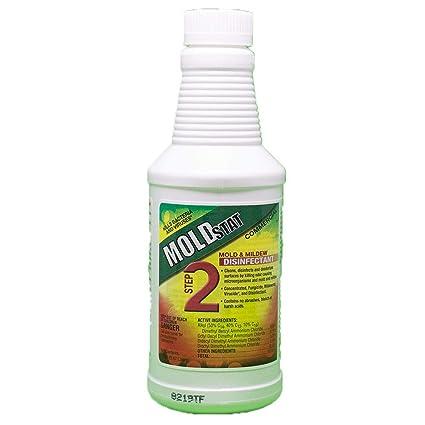 amazon com moldstat step 2 commercial mold mildew disinfectant rh amazon com
