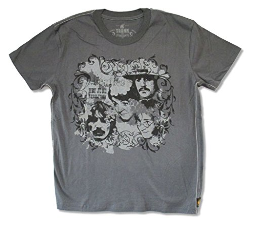 The Beatles Trunk LTD Hey Jude Revolution Gray Adult T Shirt ()