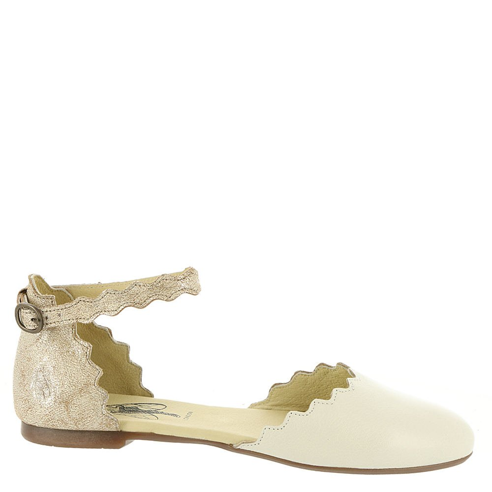 FLY London Women's MEGS210FLY Mary Jane Flat B07528JMSH 38 M EU (7-7.5 US)|Off White/Pearl Mousse/Cool