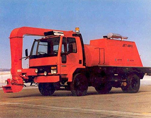 1991 Ford Cargo RPM Tech Blaster Truck Brochure ()